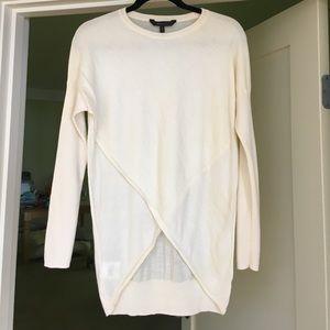 BCBGmaxazria ivory sweater
